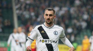 Kucharczyk jak Quaresma, Legia gromi Piasta w meczu na szczycie