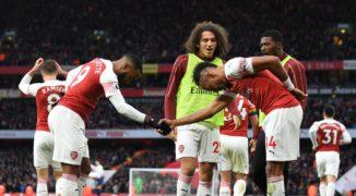 """Piekielny duet wypunktował """"Nietoperzy"""". Arsenal w finale LE!"""