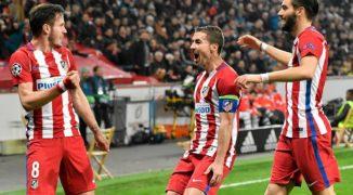 Atletico na podbój Lyonu