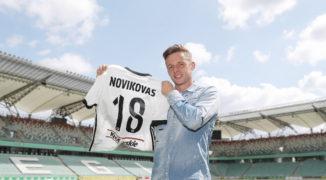 Arvydas Novikovas piłkarzem Legii Warszawa, czyli hitowy transfer stał się faktem