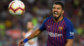 Barcelona wydziera zwycięstwo Interowi. Luis Suarez bohaterem