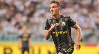 Legia Warszawa lepsza w hicie. Lech Poznań przegrywa u siebie 0:1