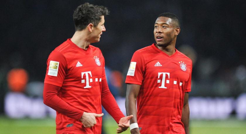 """""""Der Klassiker"""" dla Bayernu. Chłopców oddzielono od mężczyzn"""