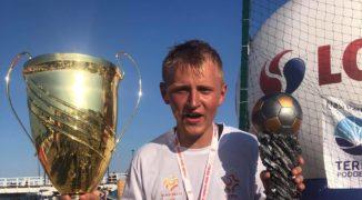 Jakub Bistuła – MVP mistrzostw Polski w beach soccerze (WYWIAD)