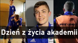 Dzień z życia piłkarza akademii Miedzi Legnica (WIDEOREPORTAŻ)