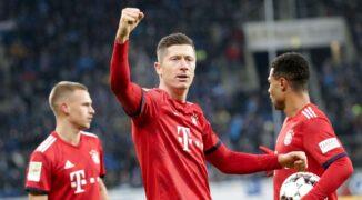 """Lewandowski vs. Suarez – pojedynek najlepszych """"dziewiątek"""" na świecie"""