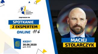 """Maciej Stolarczyk gościem """"Spotkania z Ekspertem"""""""