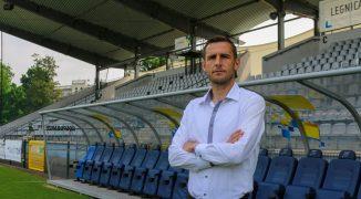 Wojciech Łobodziński nowym trenerem Miedzi Legnica