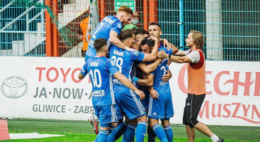 Piast Gliwice zadowala swoich kibiców początkiem sezonu